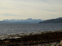 The Cuillin from Corran