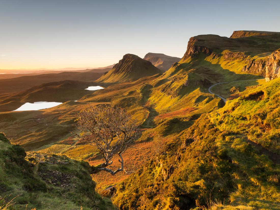 Quiraing View, Skye