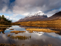 Liathach from Loch Clair 3